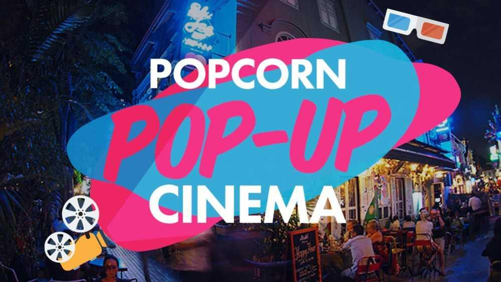 Pop-Up Cinema by Popcorn App