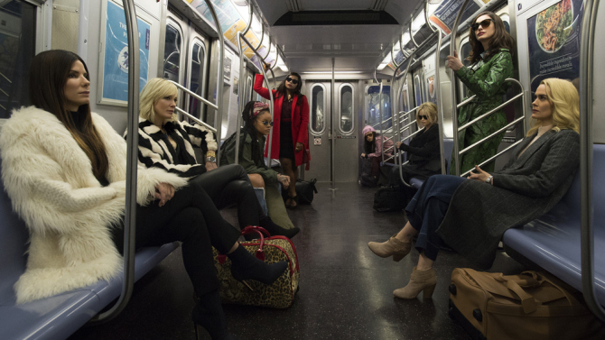 Eight Is The Number In New Ocean's 8 Official Photo
