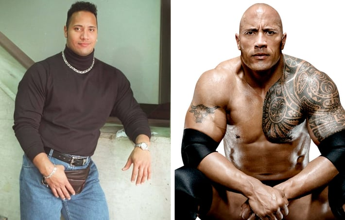 The Rock looks like he's 60 | IGN Boards