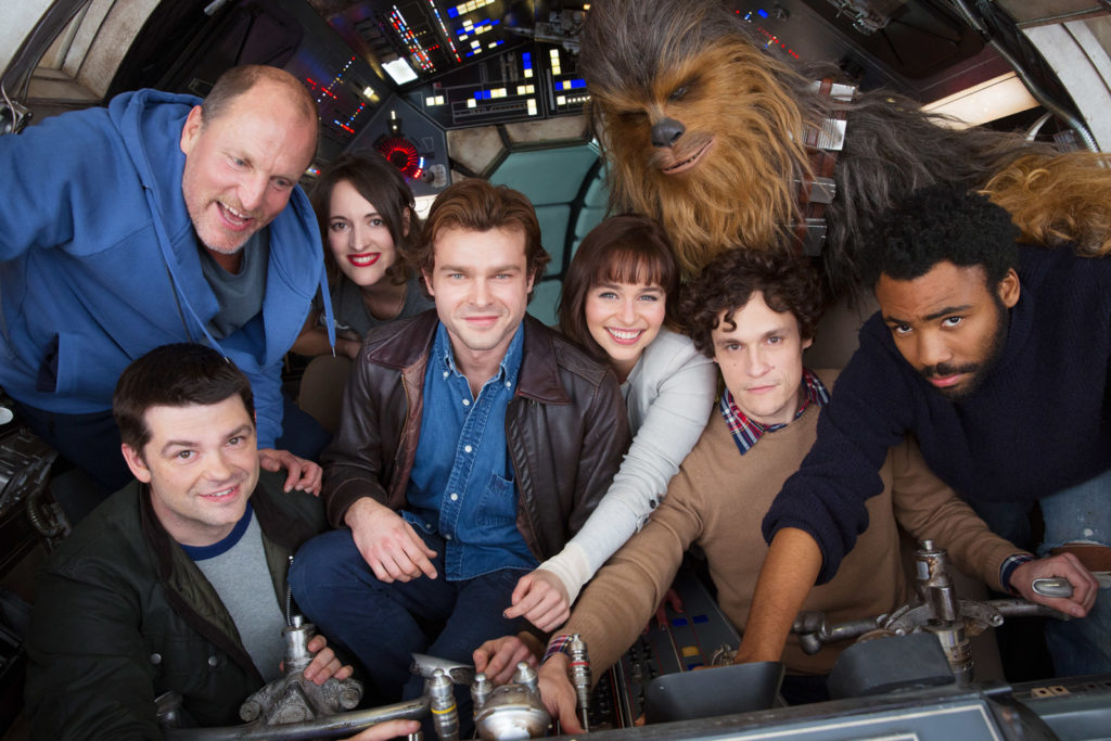 First Picture Of 2018's Yet Untitled Hans Solo Movie