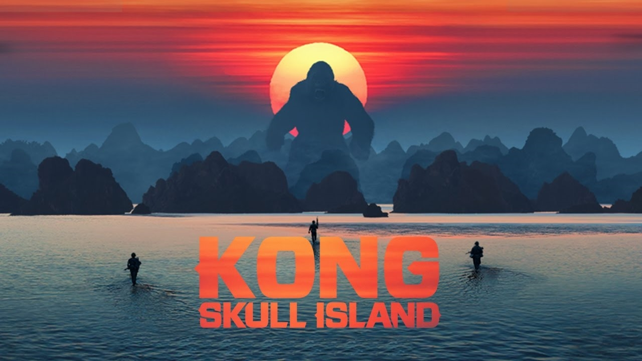 Newly Dropped Explosive Kong: Skull Island [Trailer]