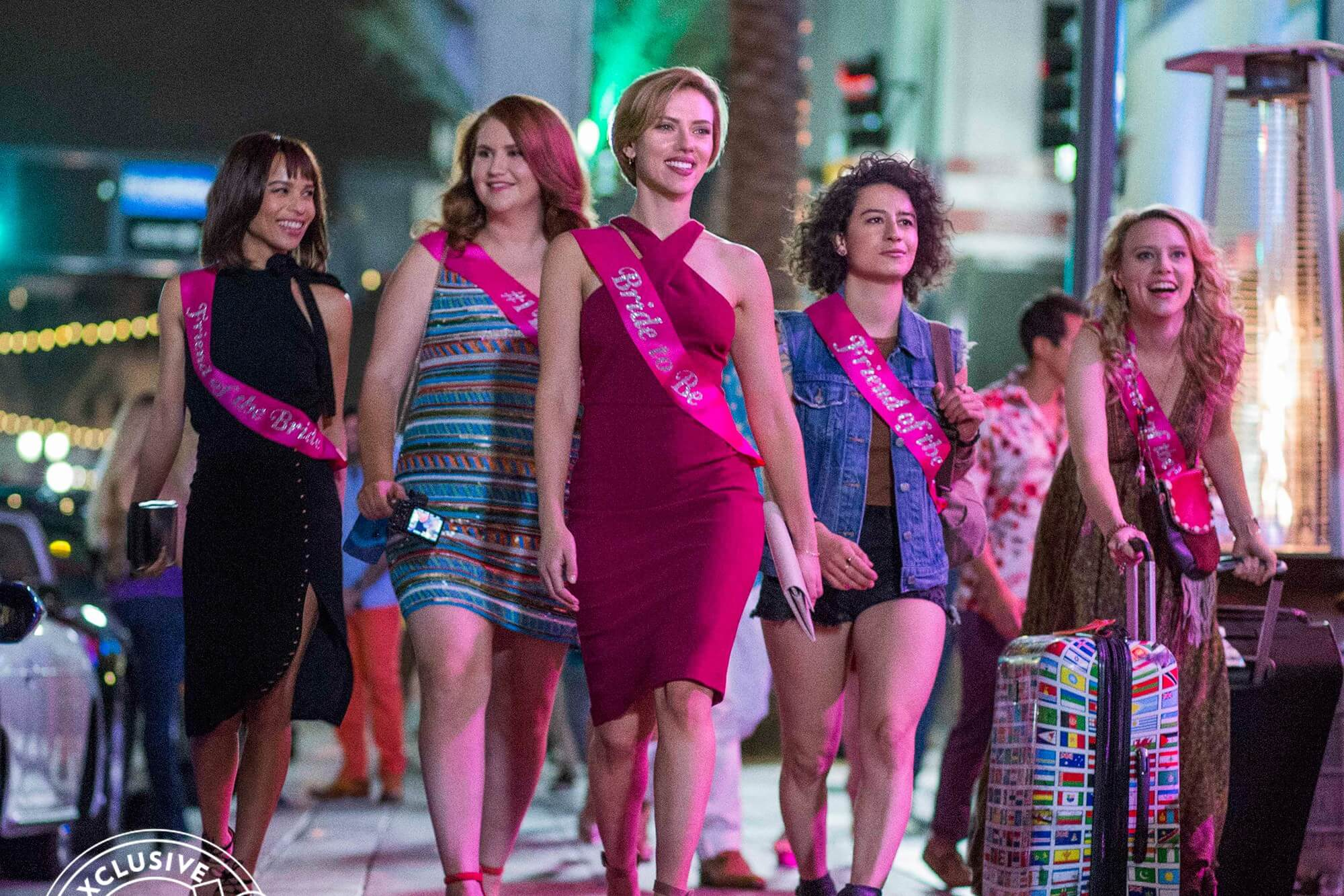 Scarlett Johansson's Bachelorette Party Turns Disastrous In Rough Night [Trailer]