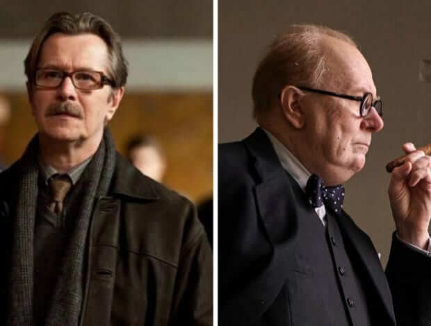 Thespian Gray Oldman Transforms Into Winston Churchill In 'Darkest Hour'