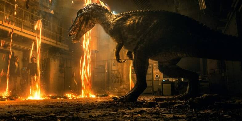 Life Finds A Way In Explosive First Trailer For 'Jurassic World: Fallen Kingdom'