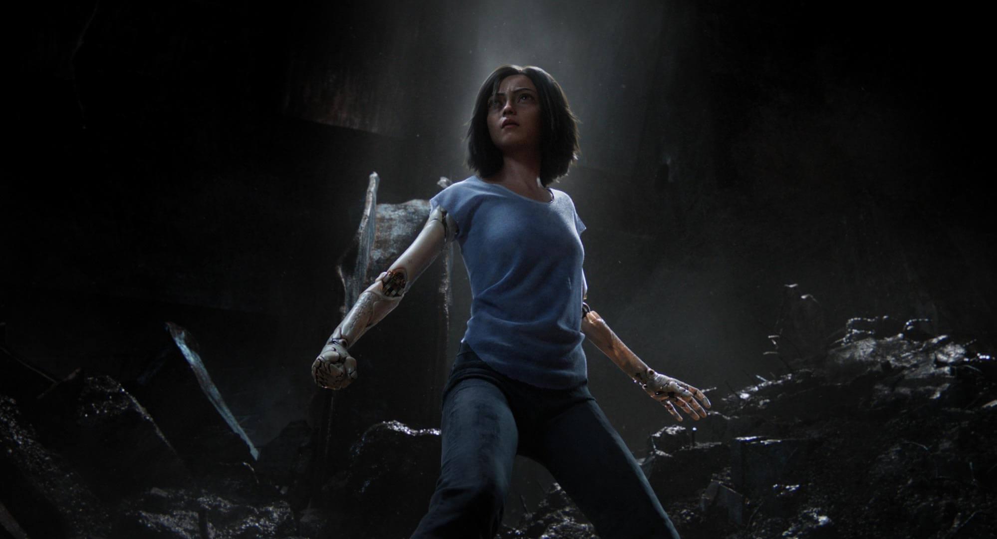James Cameron Takes On Manga With Cyberpunk Actioner  'Alita: Battle Angel'