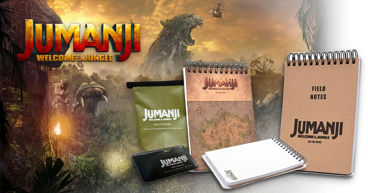 [Closed] Win Limited Edition 'Jumanji: Welcome To The Jungle' Movie Collectibles!