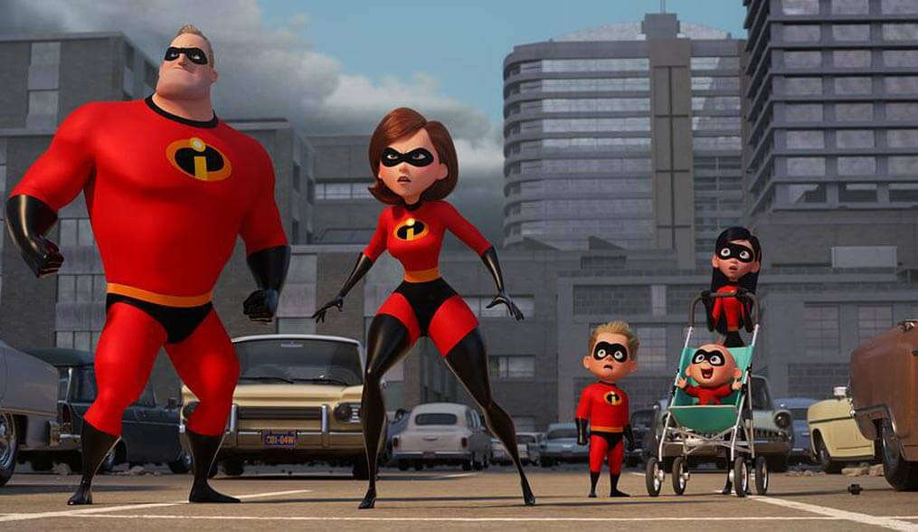 Your Favourite Superhero Family Is Back In The First 'Incredibles 2' Trailer