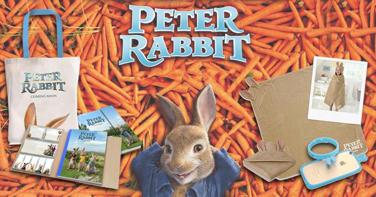 [CLOSED] Win Limited Edition 'Peter Rabbit' Movie Swag