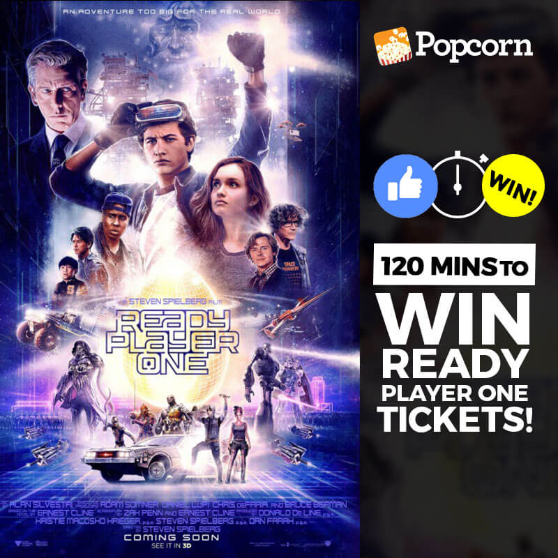 [CLOSED] 120 MIN FLASH GIVEAWAY: Join Now To Win Free 'Ready Player One' Preview Tickets
