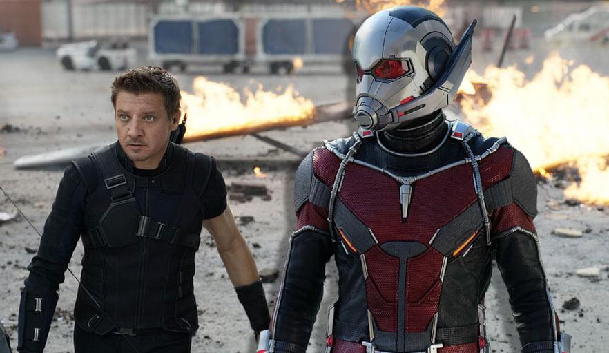 Avengers: Infinity War - Ant Man and Hawkeye
