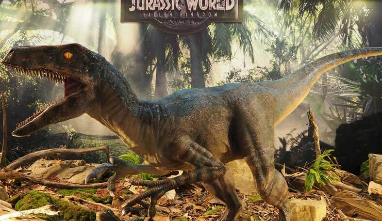 Jurassic World: Fallen Kingdom Velociraptor