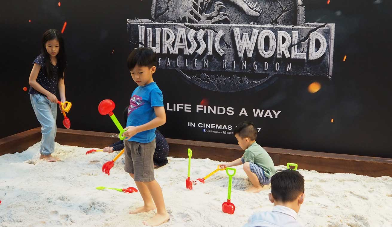 Jurassic World: Fallen Kingdom Sandpit