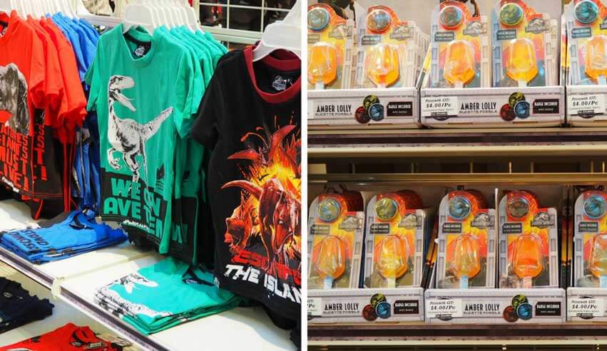 Jurassic World: Fallen Kingdom Merchandise