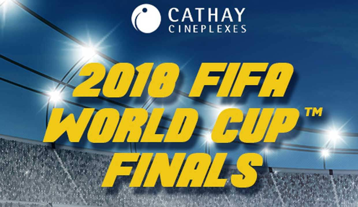 Join Now: Win Tickets To Watch The FIFA World Cup Final Live On The Big Screen!