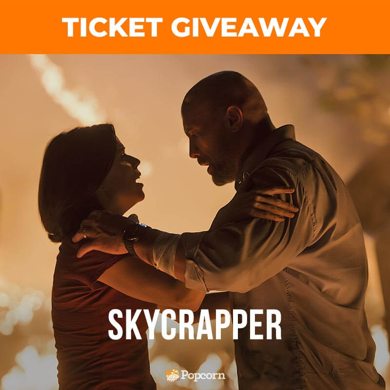 [CLOSED] Win Preview Tickets To Action-Thriller 'Skyscraper' Starring Dwayne Johnson