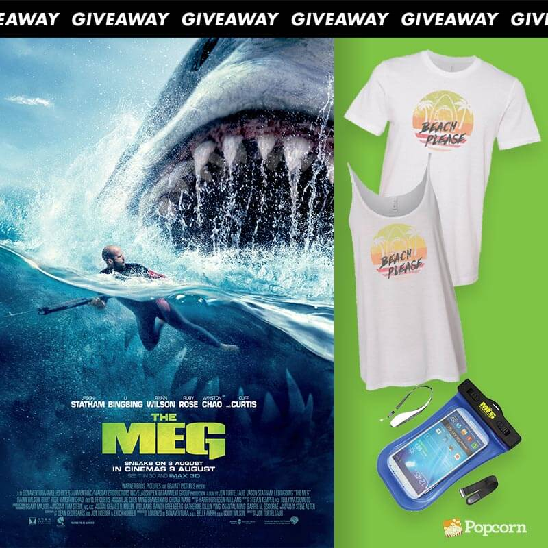 [CLOSED] Win Complimentary Passes And Limited Edition Premiums To Action Thriller 'The Meg'