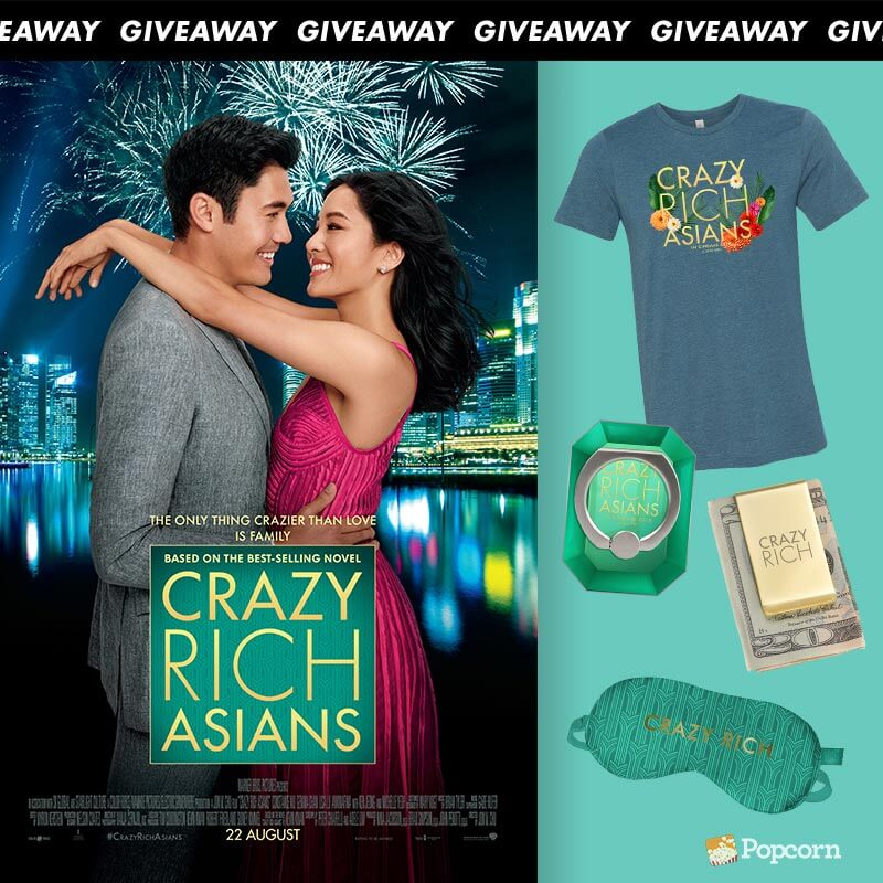 [Contest Closed] Win Movie Premiums To RomCom 'Crazy Rich Asians'