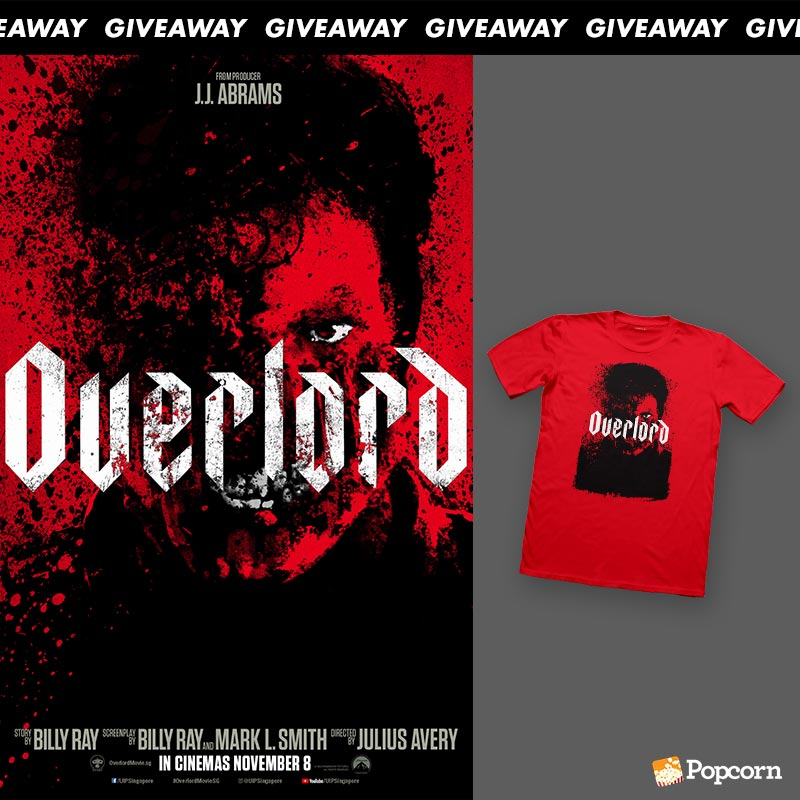 Win An 'Overlord' T-Shirt Worth $50