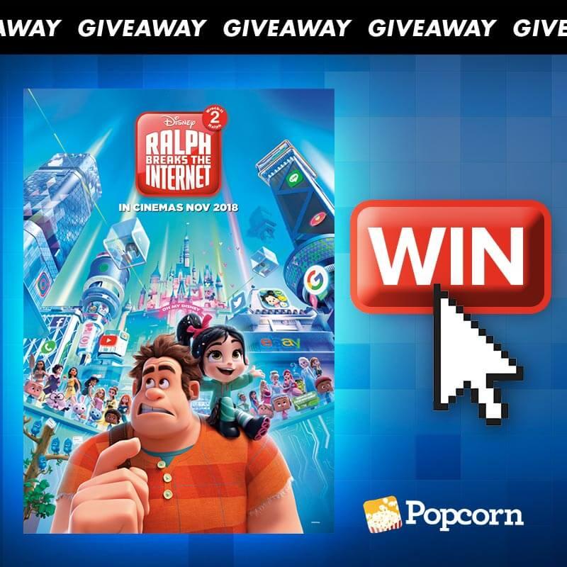 Menangkan Tiket Premiere untuk 'Disney's Ralph Breaks The Internet: Wreck-It Ralph 2'