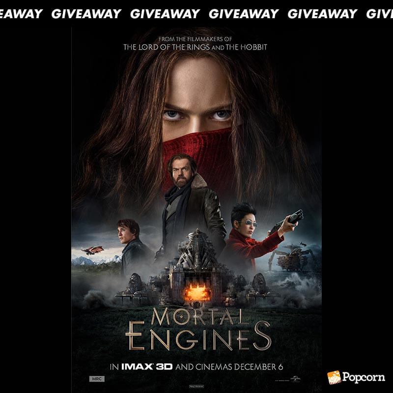 Win A Set Of Prizes To Epic Adventure 'Mortal Engines'