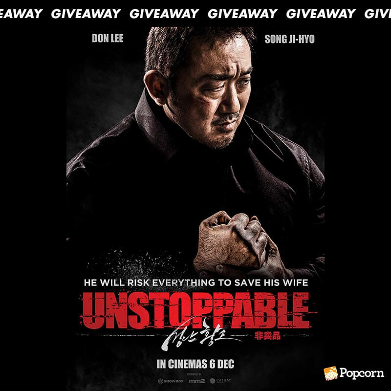 Win Passes To Korean Action Thriller 'Unstoppable'