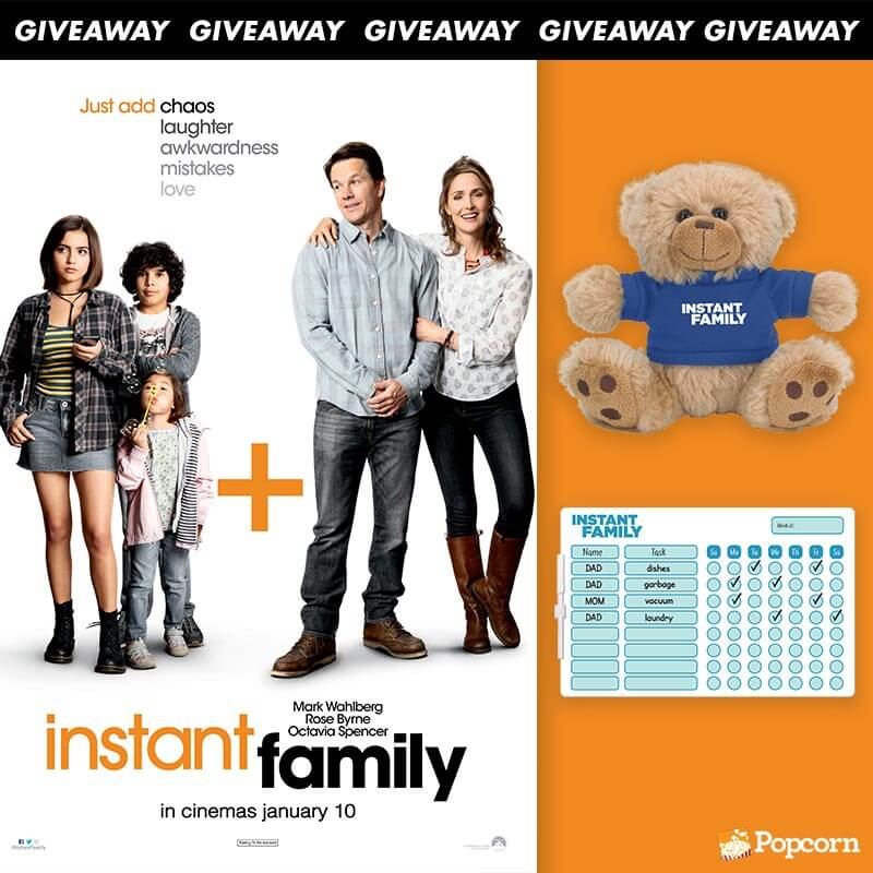 Win Premiere Tickets & Collectibles To Heartwarming Comedy 'Instant Family'