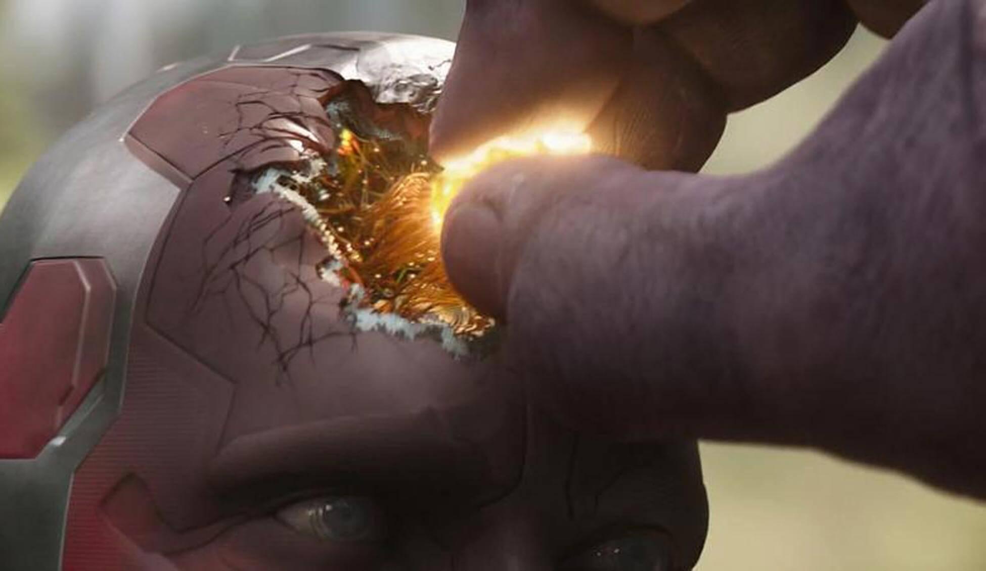 Vision Avengers Endgame