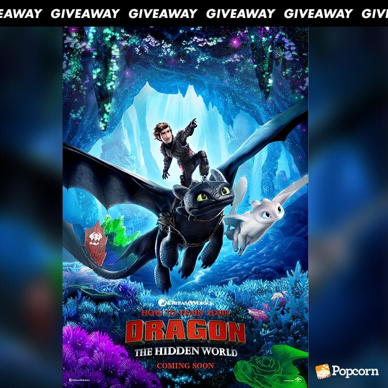 Win A Pair Of Premiere Tickets To 'How To Train Your Dragon: The Hidden World'