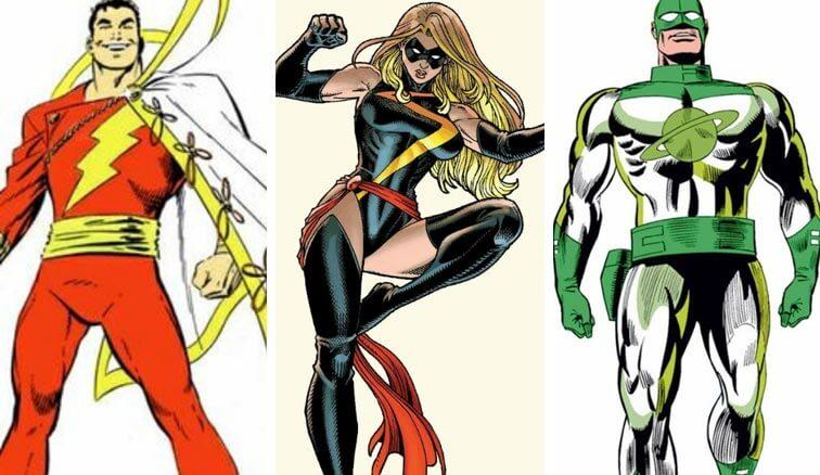 Captain Marvel Costume