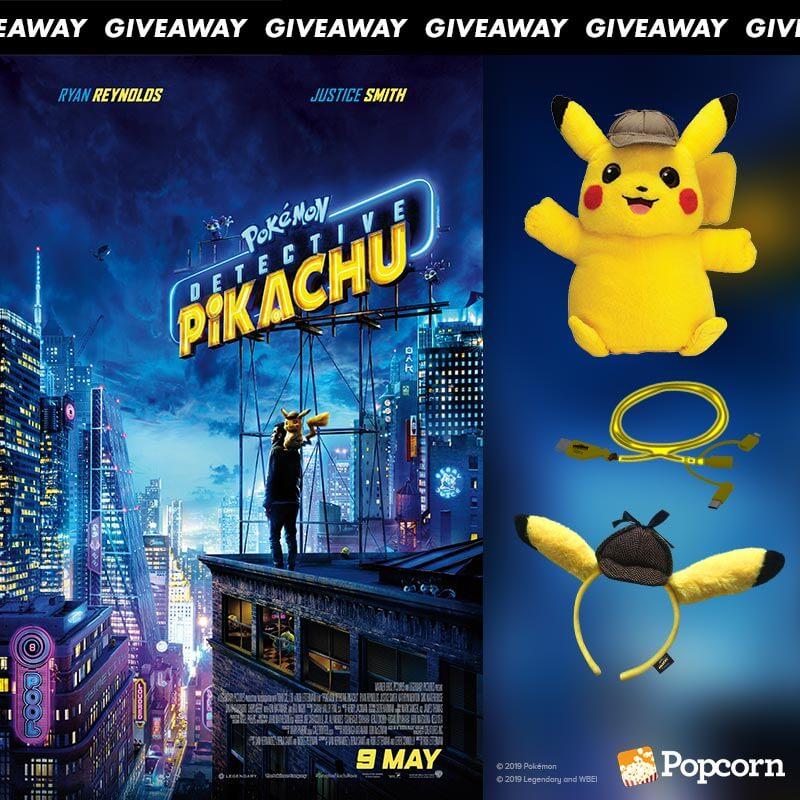 Win Limited Edition 'POKÉMON Detective Pikachu' Movie Premiums