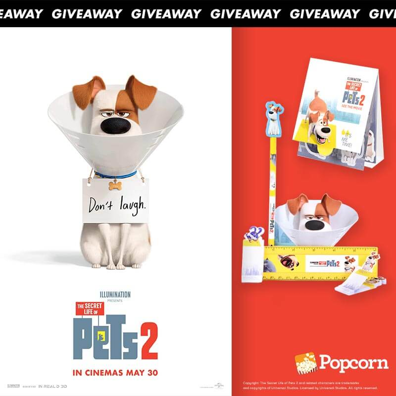 Win A Set Of Prizes To 'The Secret Life Of Pets 2'