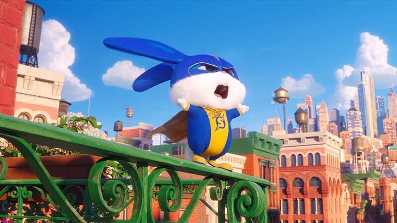 Snowball is a Superhero in New Secret Life of Pets 2 Clip