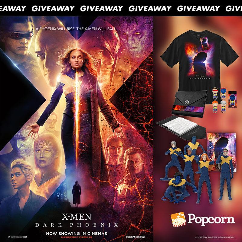 Win Limited Edition 'X-Men: Dark Phoenix' Movie Premiums
