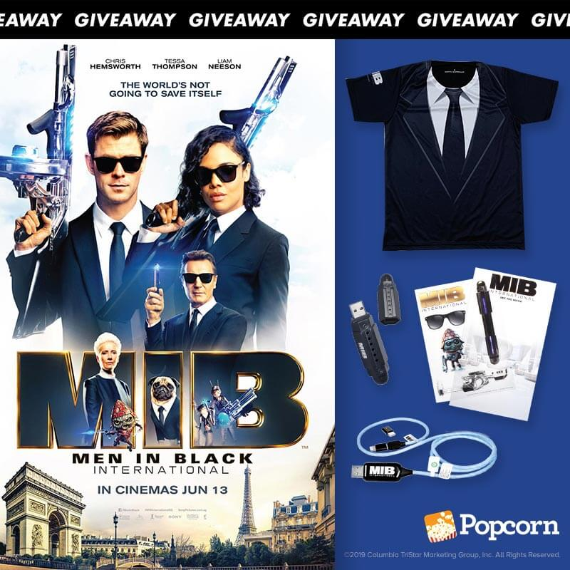 Win Exclusive Limited Edition Men In Black International