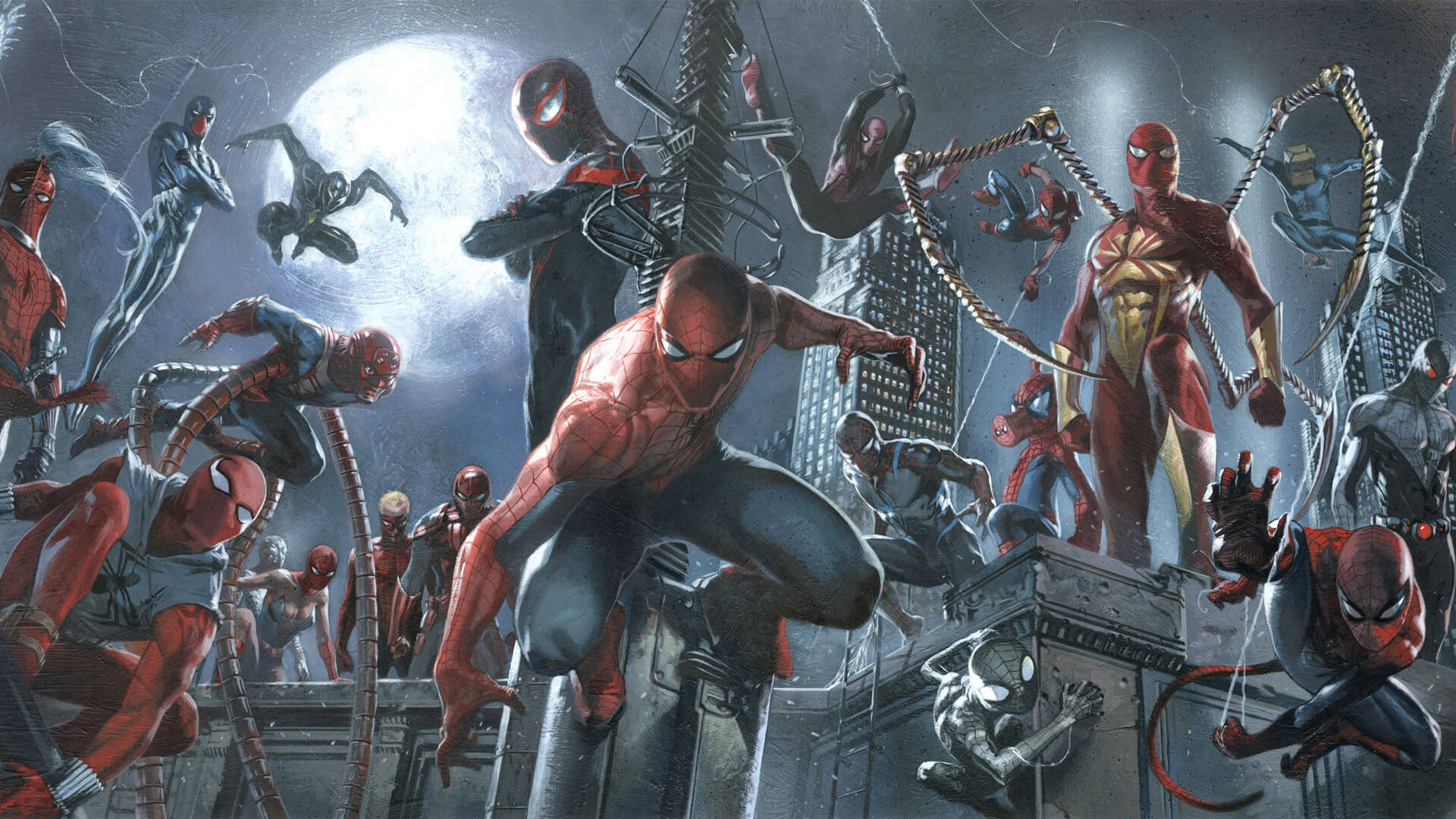 Suit-Up! The Many Looks of Spider-Man (And A Possible Secret One?)