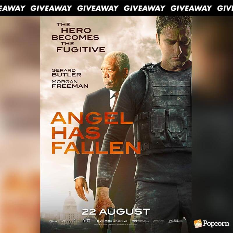 Win Premiere Tickets To Action Thriller 'Angel Has Fallen'