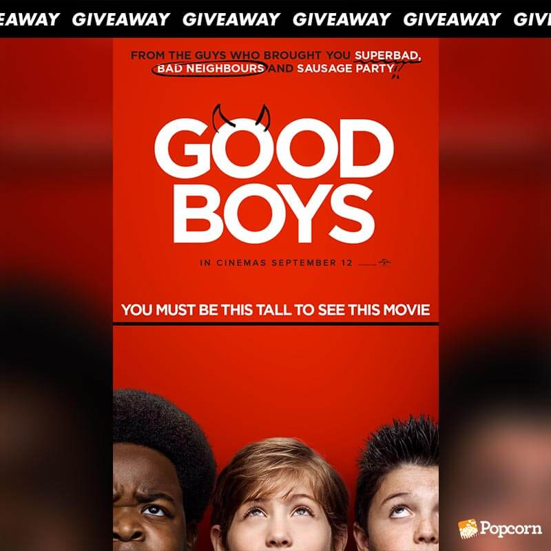 Win Preview Tickets To Comedy 'Good Boys'