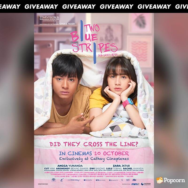 Win Passes To Indonesian Romantic Drama 'Two Blue Stripes'