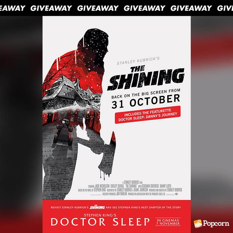Win Tickets To Stanley Kubrick's 1980 Horror Hit 'The Shining'