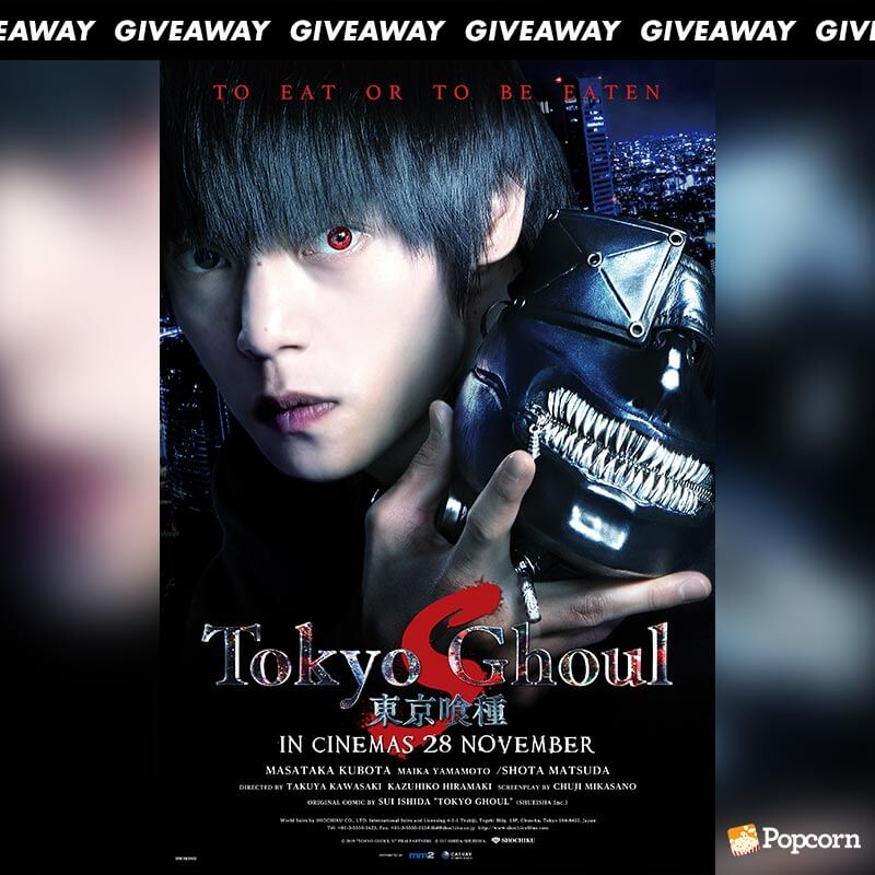 Win Complimentary Passes To Japanese Live-Action Film 'Tokyo Ghoul S'