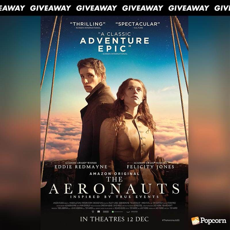 Win Preview Tickets To Action Adventure 'The Aeronauts'