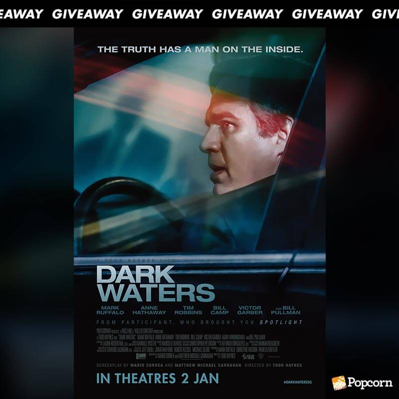 Win Premiere Tickets To Heroic True Story 'Dark Waters'