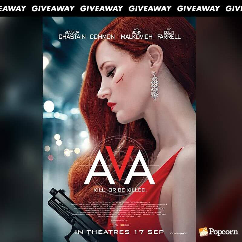Win Complimentary Passes to Action Thriller AVA