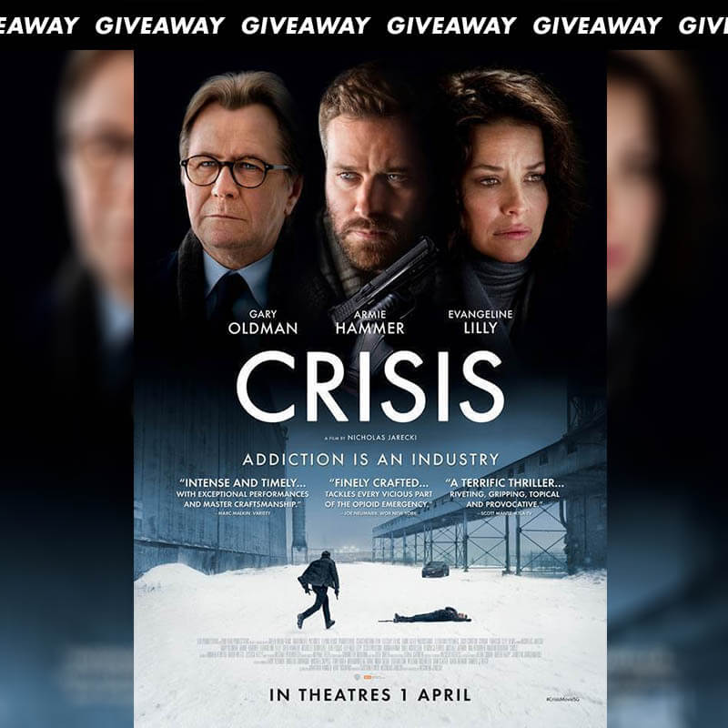 Win Complimentary Passes to Thriller CRISIS