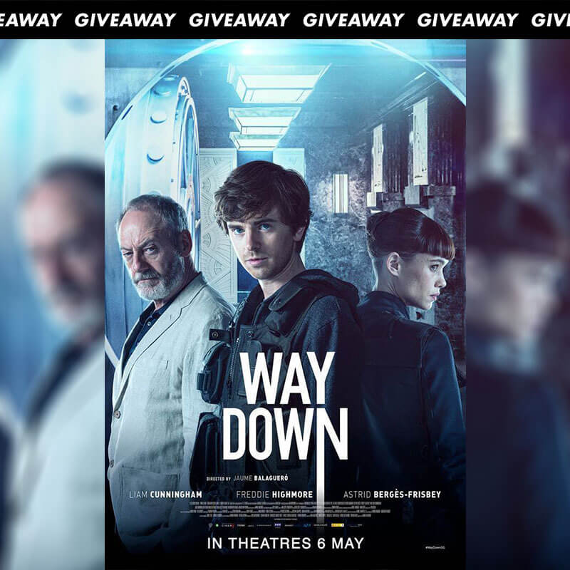 Win Complimentary Passes to Action Thriller WAY DOWN
