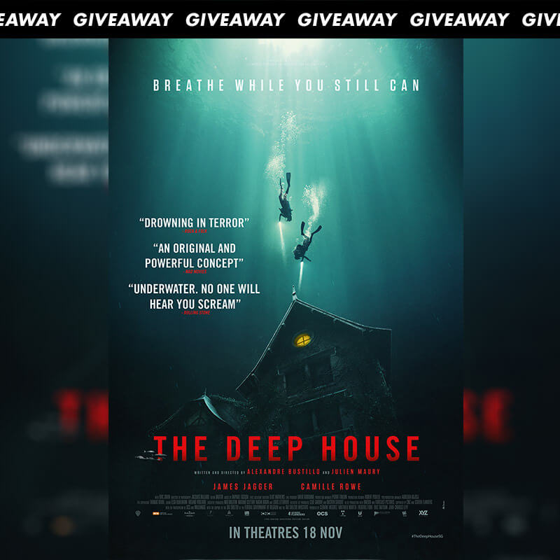 Win Preview Tickets To Underwater Horror THE DEEP HOUSE