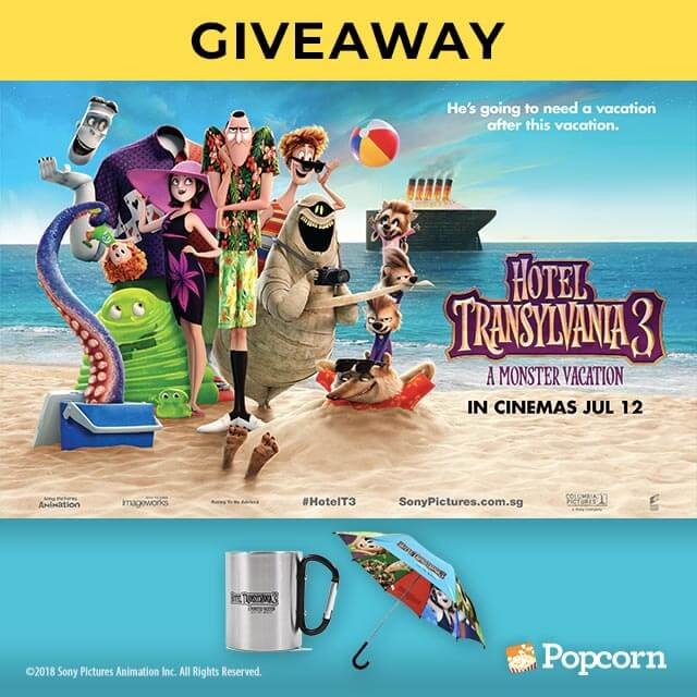 [CLOSED] Win Limited Edition 'Hotel Transylvania 3: A Monster Vacation' Movie Premiums