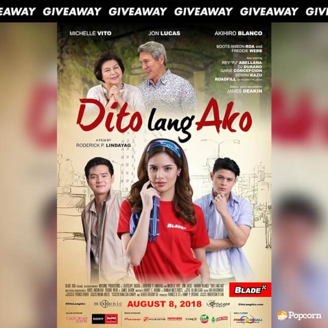 [CLOSED] Win Movie Tickets To Catch Romantic Drama 'Dito Lang Ako'