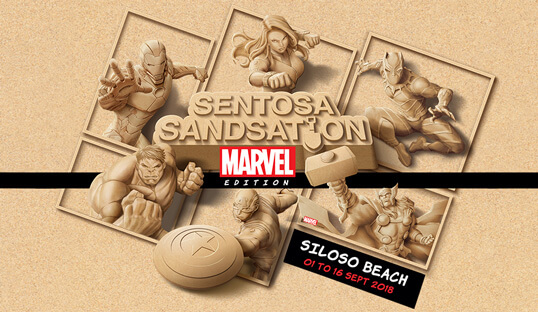 Marvel Fans Assemble: Sentosa Sandsation Returns With Your Favourite Superheroes!