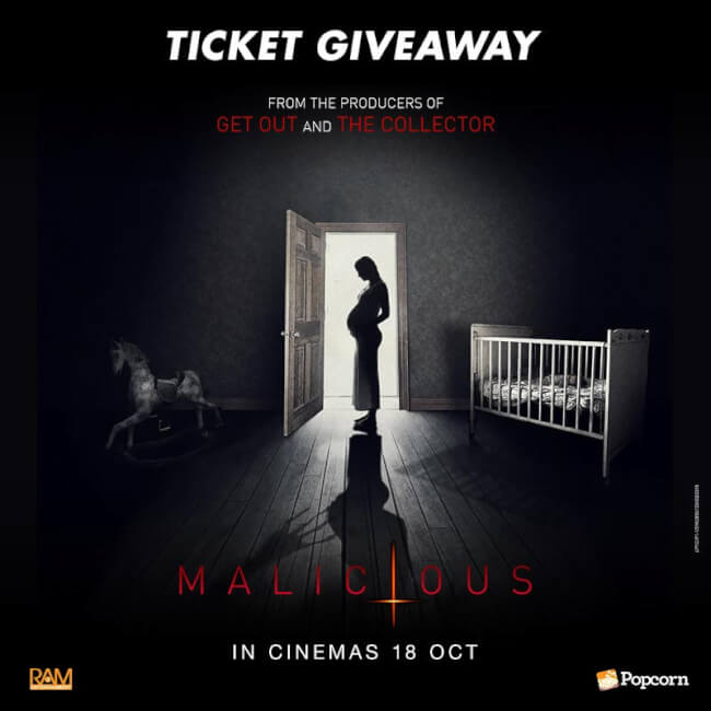Win Premiere Tickets To Supernatural Horror Thriller 'Malicious'